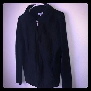 Croft&Barrow All Black Jacket